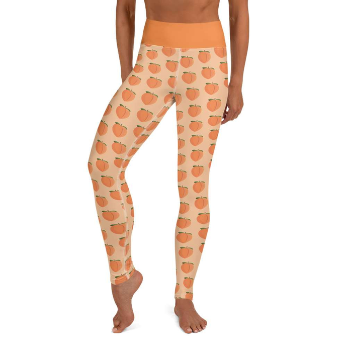 PEACH - Leggings - Always Hungry Fashion