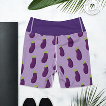 EGGPLANT - Biker Shorts - Always Hungry Fashion