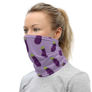 EGGPLANT - Neck Gaiter - Always Hungry Fashion