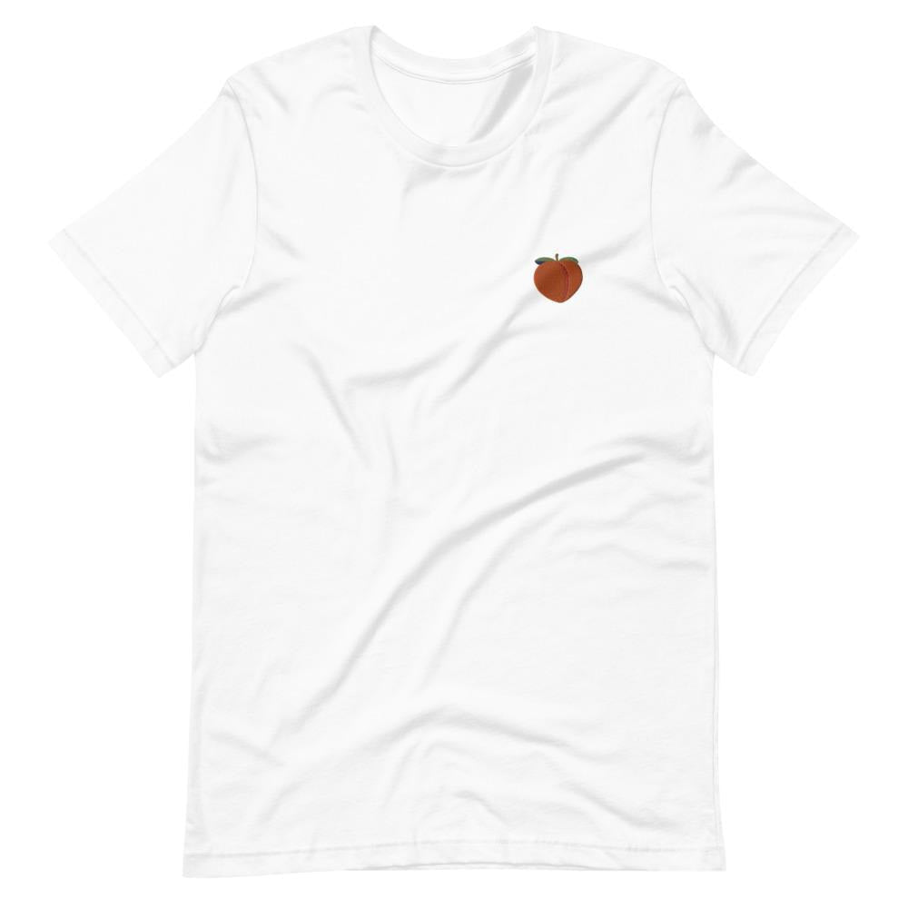 PEACH - Unisex Embroidered T-Shirt - Always Hungry Fashion