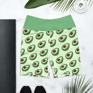 AVOCADO - Biker Shorts - Always Hungry Fashion
