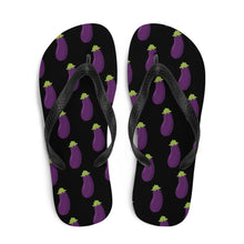 EGGPLANT - Flip-Flops - Always Hungry Fashion