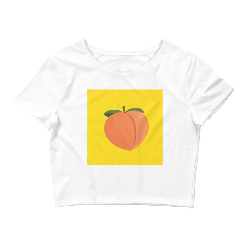 PEACH - Crop Tee - Always Hungry Fashion