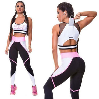 PERFORMANCE Sports Bra and Leggings Workout Set