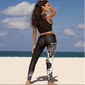 Black Tree of Life Workout Leggings Main Picture