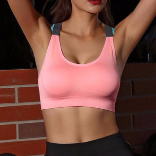 Pink Push Up Sports Bra Main Picture