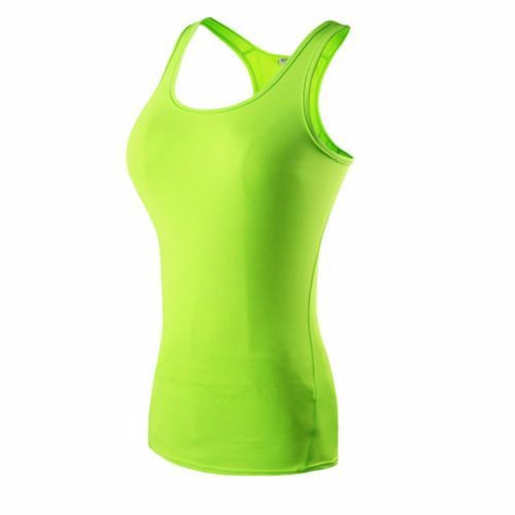 Green Workout Tank Picture
