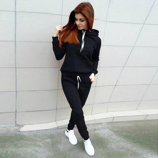 Comfy Hoodie and Sweat Pants Set