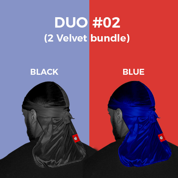 DUO #2  Pure+ (Black,Blue Velvet)