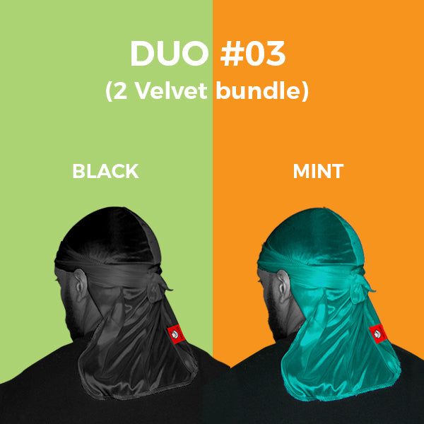 DUO #3  Pure+ (Black,Mint Velvet)