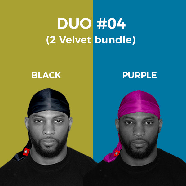 DUO #4  Pure+ (Black,Purple Velvet)