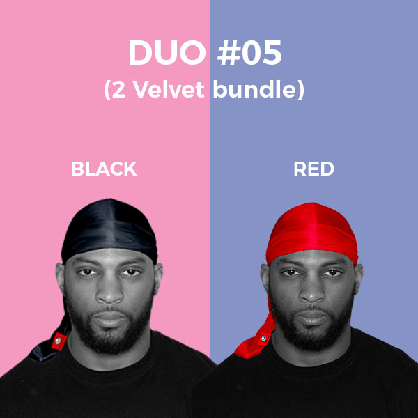 DUO #5  Pure+ (Black,Red Velvet)