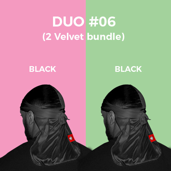 DUO #6  Pure+ (2 Black Velvet)