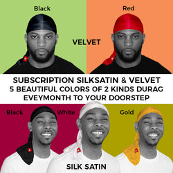 5 Color of Silksatin & Velvet