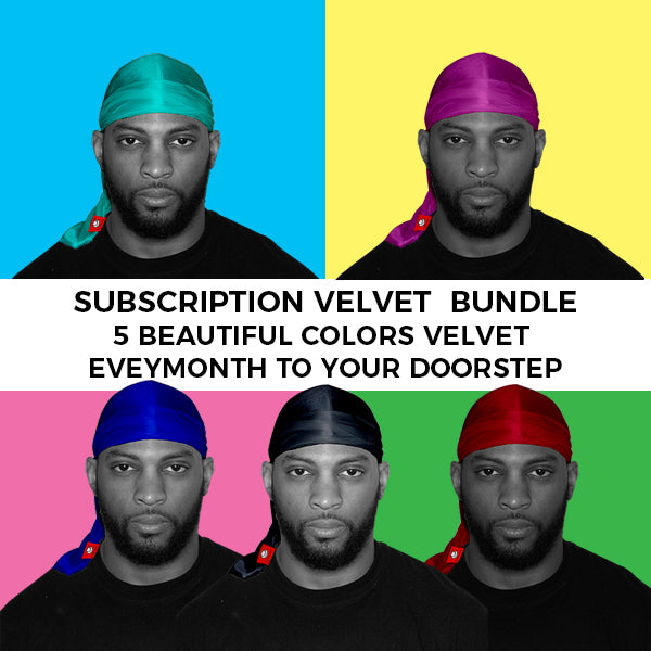 5 Color of Velvet durags