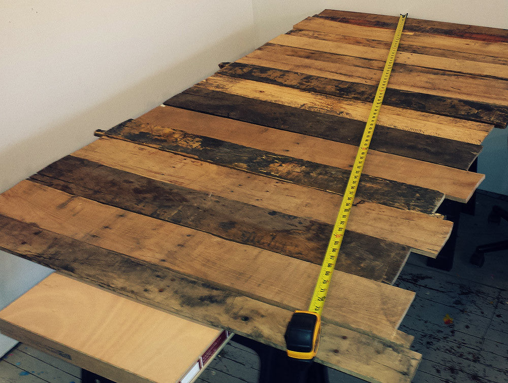Pallet Desk Shape Planning