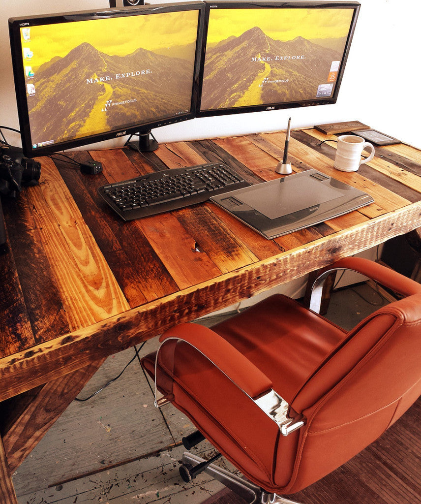 Admirable How To Make A Pallet Desk Fringe Focus Download Free Architecture Designs Embacsunscenecom