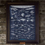 The Apollo 11 Collection NASA Moon landing poster by Fringe Focus