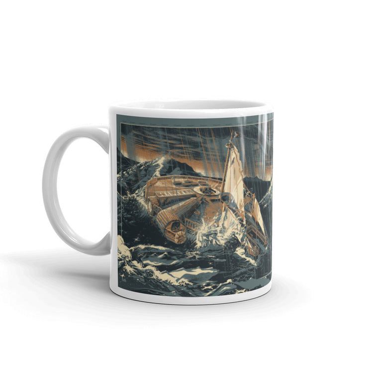 Falcon of The Seven Seas. Coffee Mug
