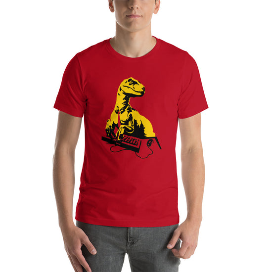 Office Raptor: Short-Sleeve Unisex T-Shirt