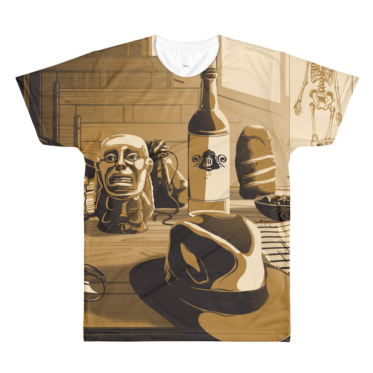 Desk of Dr. Jones: All-Over Printed T-Shirt