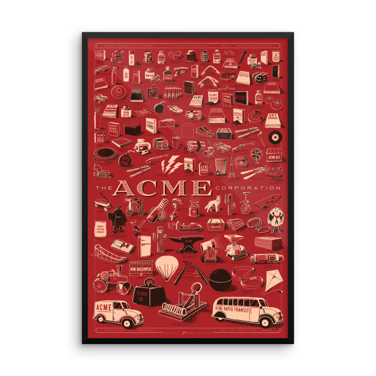 ACME Corporation Framed poster
