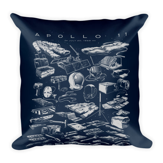 Apollo 11 Collection: Square Pillow