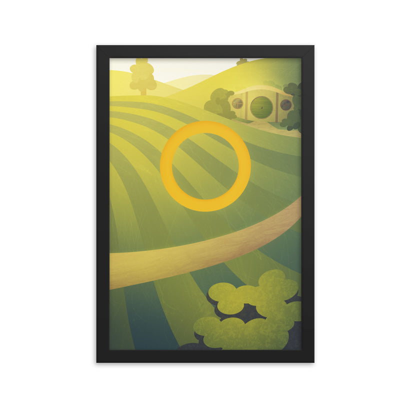 The Shire (The Fellowship of the Ring) Framed poster