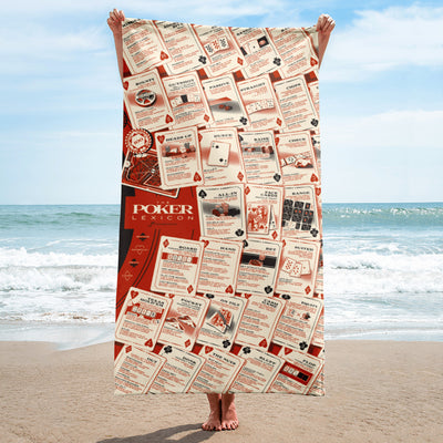 Poker Lexicon Towel