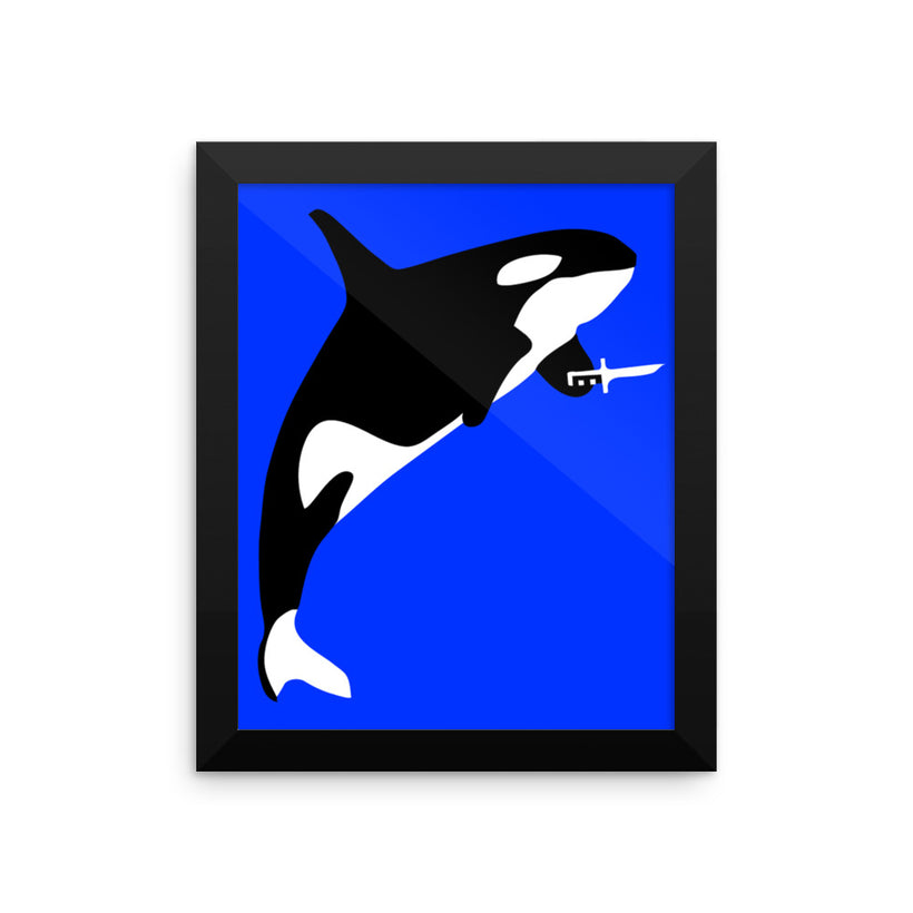 Killer Whale: Framed poster