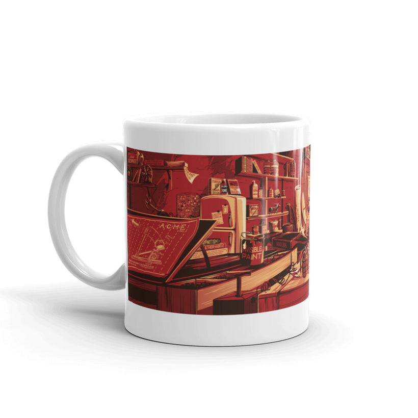 Desk of Mr. Coyote: Coffee Mug