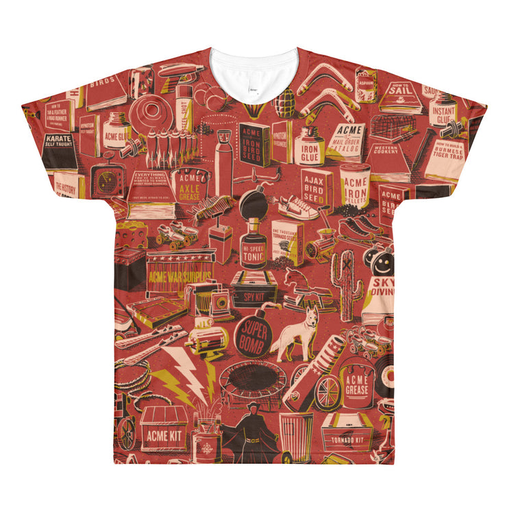 ACME Corporation: All-Over Printed T-Shirt