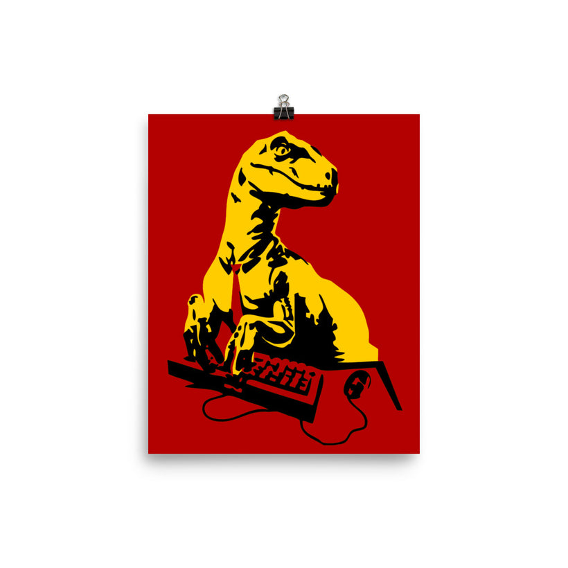 Office Raptor: Poster