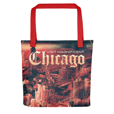 The Ruins of Chicago: Tote bag