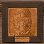 Star Lord, Man. Wood Portrait