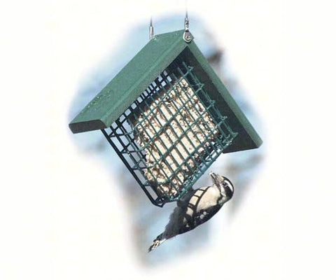 Recycled Suet Cage