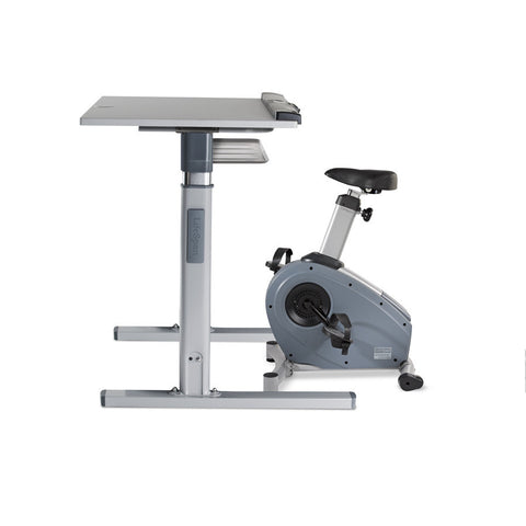 LifeSpan C3 Bike Desk with DT7 Height Adjustable Desk