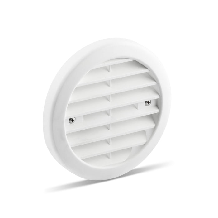 Plastic Grille 115 mm-White