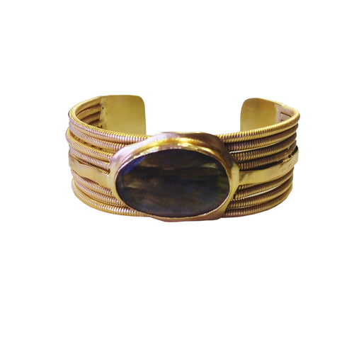 EGYPTIAN QUEEN Cuff: Onyx