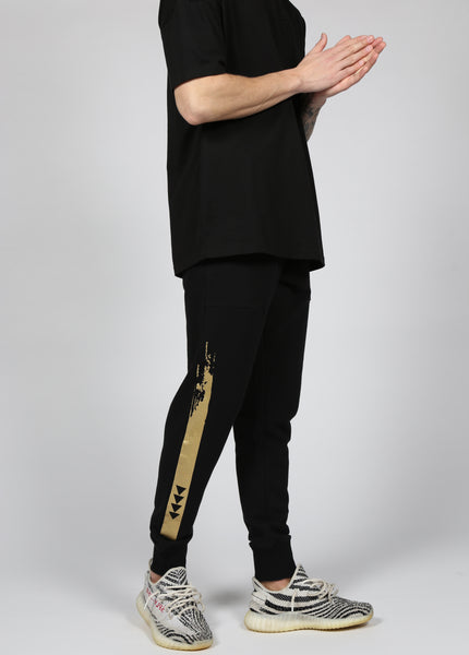 17 London - Black Bartley Joggers
