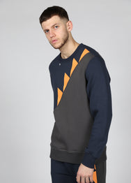 17 London - Navy Drive Sweat