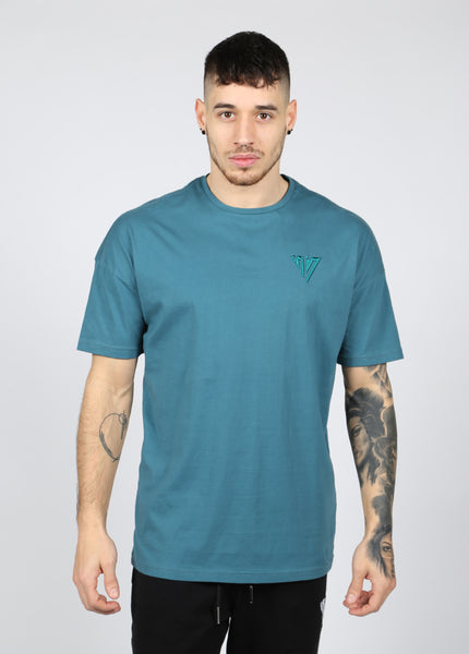 17 London- Teal Falcon T-shirt