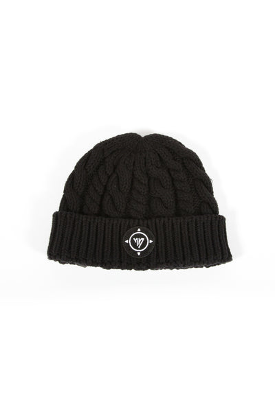 17 London - Black Funk Beanie