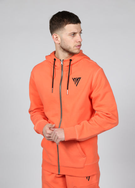 17 London - Orange Mason Hoodie