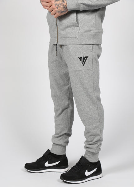 17 London - Grey Marl Neville Joggers
