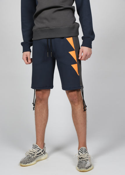17 London - Navy Snowball Shorts