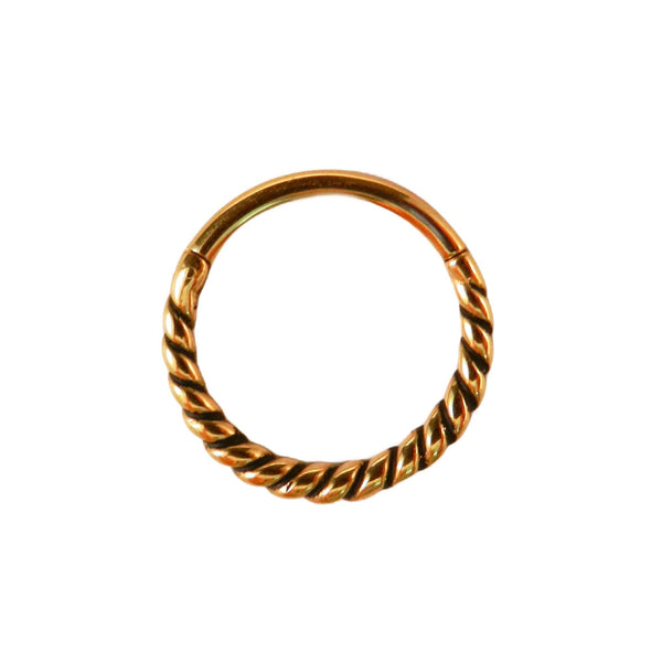 Chunky Twist Ring