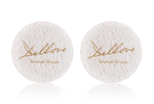 Facial Cleansing Sponges - Delbove Skincare