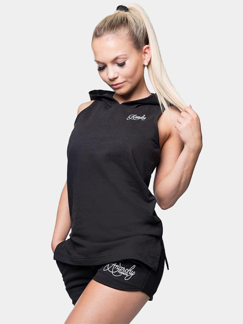 ANARCHY APPAREL AMITY T-BACK HOODIE | VAAMSPORT