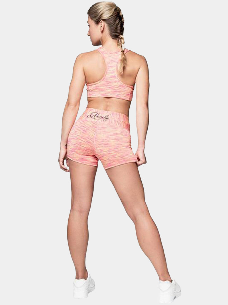 CUSHY PINK YELLOW  HOT PANTS | VAAMSPORT
